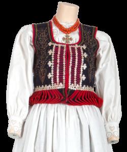 Gorset ludowy krakowski